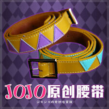Anime JoJo's Bizarre Adventure Kujo Jotaro Caesar Belt Men Waistband Cos Prop