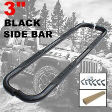 "3"" BLK NERF BARS STEP FOR 99-13 CHEVY SILVERADO 1500 EXTENDED CAB RUNNING BOARDS"