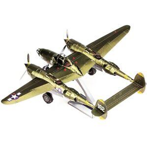 Metal Earth: Lockheed Martin P-38 Lightning 3D Model Kit