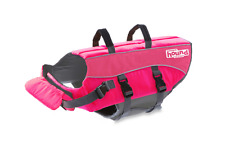 Ripstop Adjustable Preserver Life Jacket Saver for Pet Dogs in Small Pink