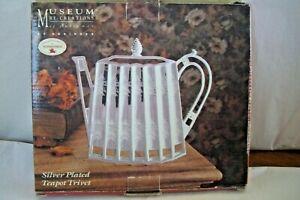 Vintage Godinger Silver Plated Teapot Trivet 1992