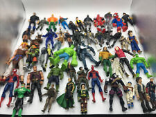 Mixed Action Figure Lot of 47 Figures Spider-Man Hulk TMNT Power Rangers More