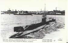 Military Postcard - Royal Navy Submarine D2 at Portsmouth - Ref X462