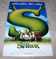 MIKE MYERS SIGNED AUTHENTIC 'SHREK' 12X18 MOVIE POSTER AUTOGRAPH w/COA SNL ACTOR