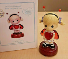 Precious Moments Share the Gift of Love 123427 Led Light Bobblehead Leah Ladybug