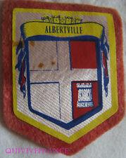 BG5906 - PATCH ECUSSON TISSU BLASON VILLE D' ALBERTVILLE