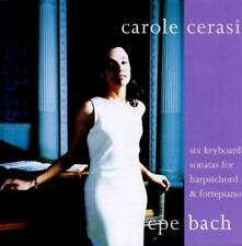 Carole Cerasi - CPE Bach: Harpsichord & Fortepiano Works CD NEW/SEALED