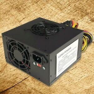 Brand NEW--Lead-Power 650w-Max DUAL FAN ATX Power Supply SATA, 20+4-pin, 6-Pin