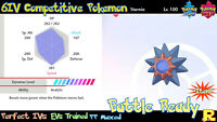6IV COMPETITIVE STARMIE ⚔️ SHINY / ULTRA or NOT 🛡 SWORD & SHIELD