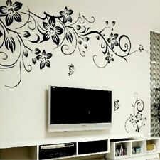 Hot DIY Wall Art Decal Decoration Fashion Romantic Flower Wall Sticker Home New