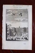 ✒ 1683 MANESSON MALLET belle vue du CAPITOLE à ROME Italie