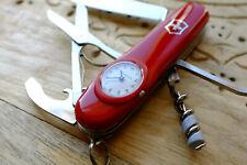 Victorinox Timekeeper red | couteau suisse avec montre vintage retired sak