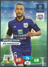 PANINI UEFA CHAMPIONS LEAGUE ADRENALYN XL-2013-14-RSC ANDERLECHT-DEMY DE ZEEUW