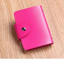 Rose Cute Mini bag Womens Wallet Holder Pocket Business ID Card Credit Bag