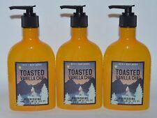 3 BATH & BODY WORKS TOASTED VANILLA CHAI NOURISHING HAND SOAP WASH TEA TREE OIL