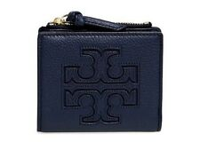 NWT Tory Burch Harper Mini Wallet in Royal Navy