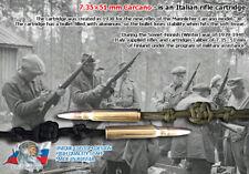Paracord Lanyard for Knife - Winter War 1939, Mannlicher-Carcano 7,35x51 mm
