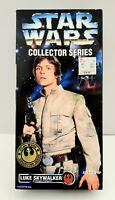 "Vintage 1996 Kenner Star Wars Luke Skywalker Beaspin Fatigues 12"" Action Figure"