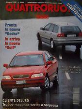 Quattroruote 488 1996  - test su strada Volvo V40 e Volvo S40   [Q34]