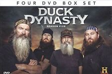 Duck Dynasty (4-Disc Box Set) GIFT IDEA Season 5 in FULL UK STOCK DVD NEW