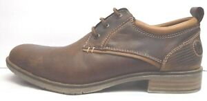 Steve Madden Size 10.5 Brown Leather Oxfords New Mens Shoes