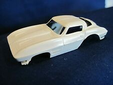 Vintage Aurora HO T-Jet Slot car Corvette Stingray 1963 Body only
