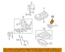 TOYOTA OEM Engine-Oil Filter 90915YZZD3