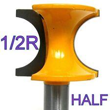 """1-pc 1/2"""" Shank 1/2 Inch Rad. Half Round Bull Nose Router Bit  sct-888"""