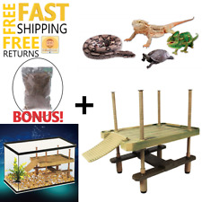 Reptile Cage Decoration Ornaments Landscap Climbing for Lizard Iguana Snake New