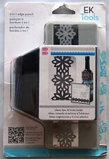 EK Tools Paper 2-in1 ideas tips tricks inside edge punch Lily pad 54-52001 NEW
