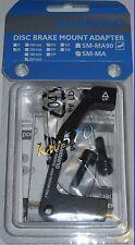 Shimano - Adaptador trasero original Shimano PM-ES 203mm SM-MA-R203P/S b