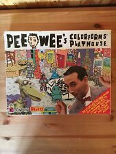 Pee Wee Colorforms Deluxe Playhouse Playset New Sealed 1987