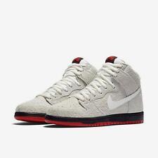Mens Nike SB Dunk High TRD QS 881758-110 Summit White Brand New Size 9