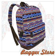 Bohemia Pattern Backpack Tribal Fabric Rucksack Daypack Bag
