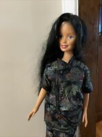 "VTG  1992 MATTEL BARBIE DOLL MY SIZE LIFE SIZE 36"" Made Asian Black Hair"