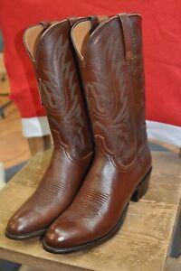 Men's Lucchese M1022.R4 Antique Brown Lonestar Calf Boots