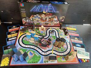1986 MB Games HOTEL - Vintage Board Game *Please Read Description*
