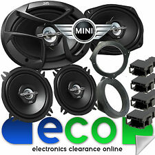 BMW MINI R50 R53 JVC 3 VIE 6X9 1300 Watt Porta Anteriore & Posteriore SIDE CAR SPEAKER KIT