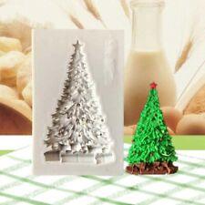 Cake Chocolate Decorating Silicone Mold Christmas Tree Sugarcraft Fondant