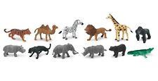Wild Animals Toob Safari Ltd. #695004 Giraffe Bear Tiger Camel Elephant Rhino