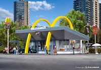 Vollmer 43634 NEW HO (1:87) / OO (1:76) McDonald's restaurant with McDrive kit