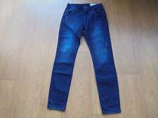 ESPRIT Damen Jeans Gr. W27/L32 blau A SLIM IS A SLIM