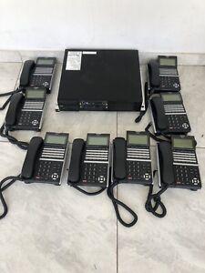 NEC SV9100 Main Unit With 8X NEC DT-400 Telephones