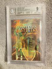 Michael Jordan Bgs 9 1997 MJ Finest Gold Atomic Refractor Embossed Die Cut Test