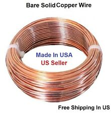 14 Ga Bare Copper Round Wire Half Hard (160 Ft - 2 Lb.) Coil