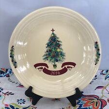 Fiestaware Christmas Tree Dinner Plate Fiesta 2016 Claret Holiday Plate NWT