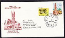 Australia 1983 Oatley Town Clock Cover Apm14170 Addressed