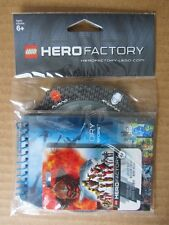 LEGO PROMOTIONAL ITEM 4646932~HERO FACTORY~NOTEPAD~BADGE~WHEEL~NEW IN BAG~2011