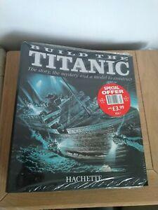 1/250 Hachette Build The Titanic Model Ship folder Unused still sealed