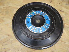 """CHRYSLER DODGE PLYMOUTH AIR FILTER COVER w/ """" SUPER SIX """" GRAPHIC vintage OEM"""
